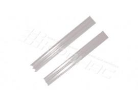 Профиль Ш для стекла (верхний / нижний)