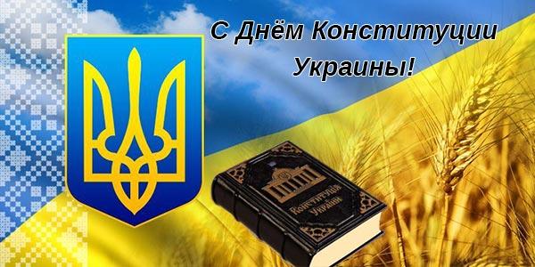 фото с Днём Конституции Украины